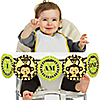 Monkey Neutral - 1st Birthday - I Am One - First Birthday High Chair Banner