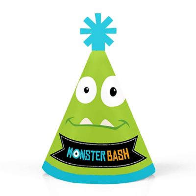 Monster Bash Personalized Mini Cone Little Monster Birthday Party