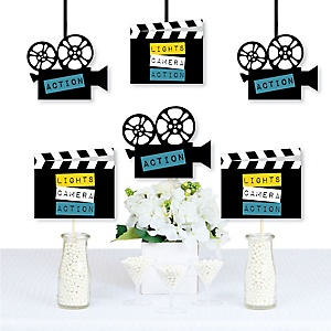 Movie - Decorations DIY Hollywood Party Essentials - Set of 20