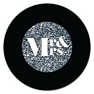 Mr. & Mrs. - Silver - Wedding Theme