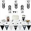 Mr. & Mrs. - Silver -  Triangle Wedding Decoration Kit - 72 Piece