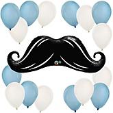 Mustache - Baby Shower Balloon Kit
