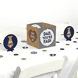 My Dad is Rad - Father's Day Centerpiece and Table Decoration Kit