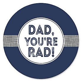 My Dad is Rad - Father's Day Party Theme