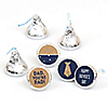 My Dad is Rad - Round Candy Father's Day Labels Party Favors - Fits Hershey's Kisses - 108 ct