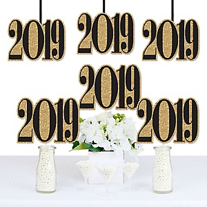 New Year's Eve - Decorations DIY 2019 Party Essentials - Set of 20