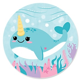 Narwhal Girl - Under the Sea Party Theme