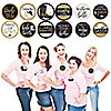 Nash Bash - Nashville Bachelorette Party Name Tags - Party Badges Sticker Set of 12