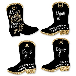 Drink If... Nash Bash Bachelorette Party Game - Set of 24