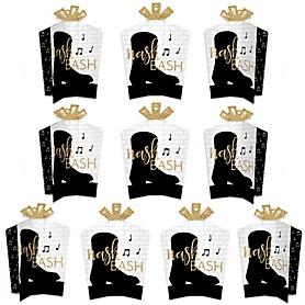 Nash Bash - Table Decorations - Nashville Bachelorette Party Fold and Flare Centerpieces - 10 Count