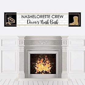 Nash Bash - Personalized Nashville Bachelorette Party Banner