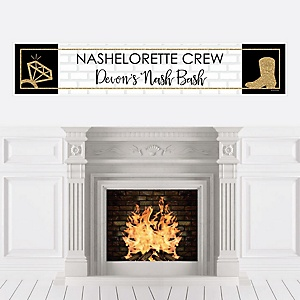 Nash Bash - Personalized Nashville Bachelorette Party Banner