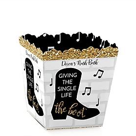 Nash Bash - Party Mini Favor Boxes - Personalized Nashville Bachelorette Party Treat Candy Boxes - Set of 12