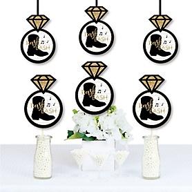 Nash Bash - Ring Decorations DIY Nashville Bachelorette Party Essentials - Set of 20