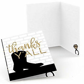 Nash Bash - Nashville Bachelorette Party Thank You Cards - 8 ct