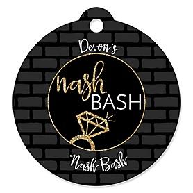 Nash Bash - Personalized Nashville Bachelorette Party Tags - 20 ct