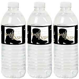 Nash Bash - Nashville Bachelorette Party Water Bottle Sticker Labels - Set of 20