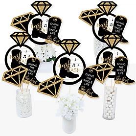 Nash Bash - Nashville Bachelorette Party Centerpiece Sticks - Table Toppers - Set of 15
