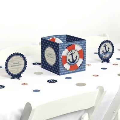 Ahoy   Nautical   Baby Shower Centerpiece U0026 Table Decoration Kit