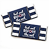 Last Sail Before The Veil - Personalized Candy Bar Wrappers Bachelorette Party & Bridal Shower Favors - Set of 24
