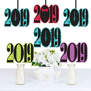 Colorful New Years Eve - 2019 Decorations DIY New Years Eve Party Essentials - Set of 20