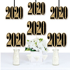 New Year's Eve - Decorations DIY 2020 Party Essentials - Set of 20