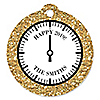 New Year's Eve - Gold - New Year's Eve Party Tags - 20 ct