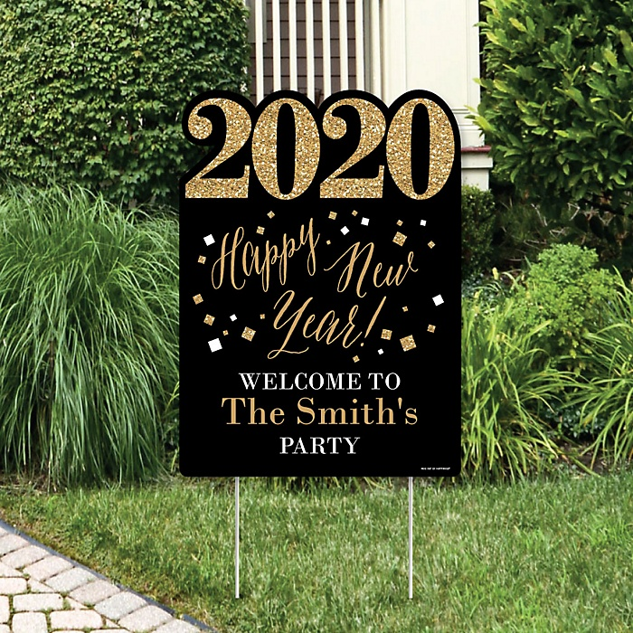 New Year's Eve - Gold - Party Decorations - 2020 New Years ...