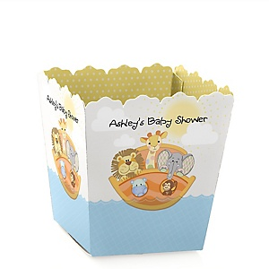 Noah's Ark - Party Mini Favor Boxes - Personalized Baby Shower Treat Candy Boxes - Set of 12