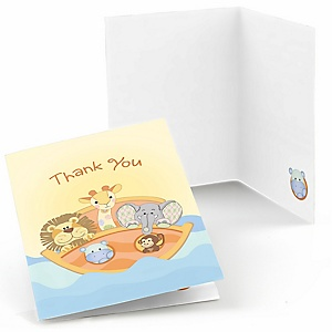 Noah's Ark - Baby Shower Thank You Cards - 8 ct