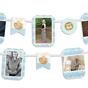 Noah's Ark - Baby Shower Photo Garland Banners