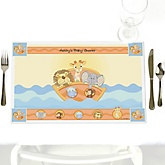 Noah's Ark - Personalized Baby Shower Placemats