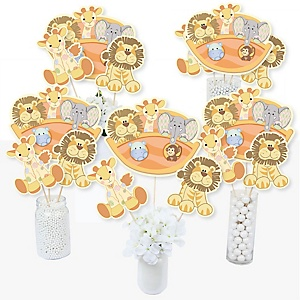 Noah's Ark - Baby Shower Centerpiece Sticks - Table Toppers - Set of 15