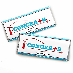 Nurse Graduation - Personalized Candy Bar Wrappers Medical Nursing Graduation Party Favors - Set of 24