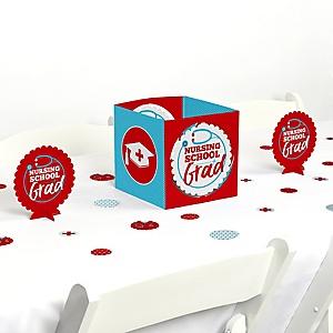 Nurse Graduation - Medical Nursing Graduation Party Centerpiece & Table Decoration Kit