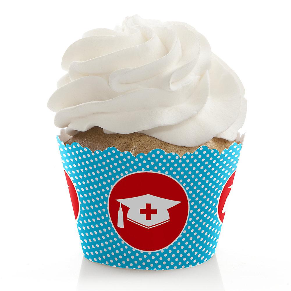 Nurse Graduation Medical Nursing Graduation Decorations Party Cupcake Wrappers Set Of 12
