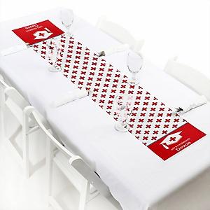Nurse Graduation - Personalized Medical Nursing Graduation Party Petite Table Runner