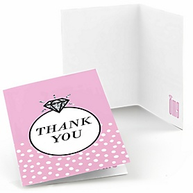 OMG, You're Getting Married! - Engagement Party Thank You Cards - 8 ct
