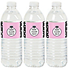 OMG, You're Getting Married! - Engagement Party Water Bottle Sticker Labels - Set of 20