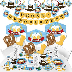 Oktoberfest - German Beer Festival Supplies - Banner Decoration Kit - Fundle Bundle