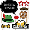 Oktoberfest - 20 Piece German Beer Festival Photo Booth Props Kit