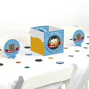 Oktoberfest - German Beer Festival Centerpiece and Table Decoration Kit