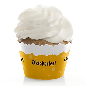 Oktoberfest - Party Decorations - Party Cupcake Wrappers - Set of 12