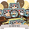 Owl - Look Whooo's Having A Birthday - 16 Person Party Kit
