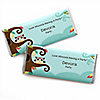 Owl - Look Whooo's Having A Baby - Personalized Candy Bar Wrappers Baby Shower Favors - Set of 24