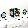 Owl - Look Whooo's Having A Baby - Baby Shower Centerpiece & Table Decoration Kit