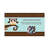 Owl - Look Whooo's Having A Baby - Personalized Baby Shower Game Scratch Off Cards - 22 ct