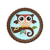 Owl - Look Whooo's Having A Birthday - Birthday Party Dessert Plates - 8 ct