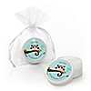 Owl - Look Whooo's Having A Birthday - Personalized Birthday Party Lip Balm Favors