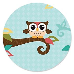 Owl - Look Whooo's Having A Birthday - Birthday Party Theme